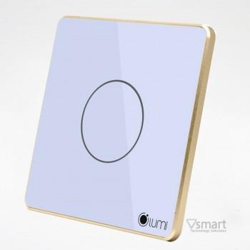Công tắc cảm ứng kính phẳng Lumi 01 nút