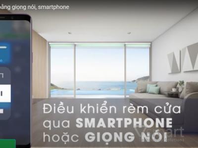 [Video] Điều khiển rèm bằng giọng nói, smartphone