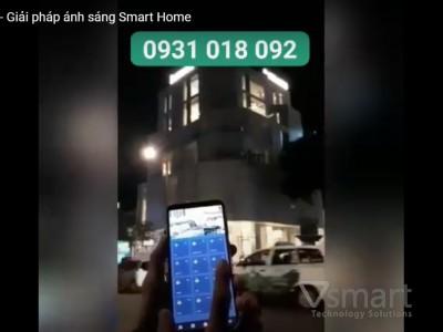 [Video] Công trình thực tế giải pháp ánh sáng thông minh Lumi