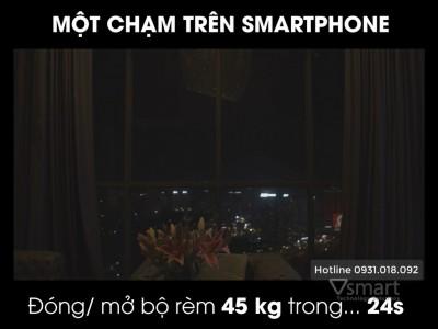[Video] Rèm thông minh Lumi đóng mở chỉ bằng 1 chạm bằng smartphone