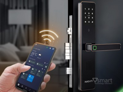 [Video] Cận cảnh sản phẩm khóa thông minh INNOVITI-S