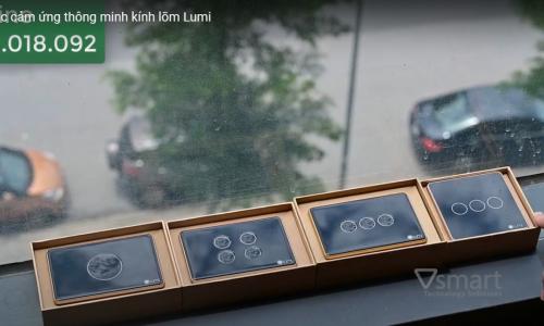 [Video] Review công tắc cảm ứng thông minh kính lõm Lumi